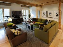 Family room furniture layout 100 Square Foot Shop This Look Hgtvcom Furniture Arrangement Tips Hgtv