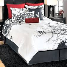 black and white queen size comforter sets amazing best red bedding sets ideas on red beds red in red and black queen comforter set black and white queen