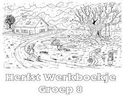Herfst Werkboekje Groep 8 Werkboekjes Printen Op Minipretnl