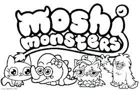 Printable Coloring Pages Halloween Monsters Monster Coloring Pages