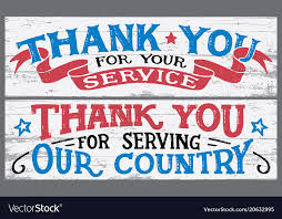 Thanks For Your Service Thank You For Your Service Wood Signs