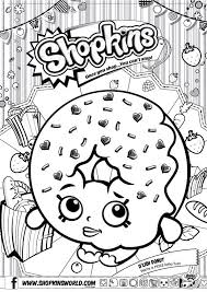 Shopkin Coloring Pages Only Coloring Pages