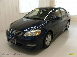 2004 Toyota Corolla S in Indigo Ink Blue Pearl - 224387 | Autos of ...