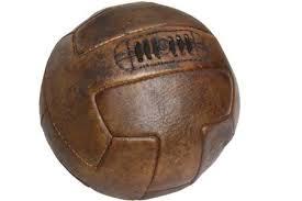 Resultado de imagen de balon de fútbol año 1896