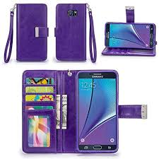 Galaxy Note 5 Case, IZENGATE [Classic Series] Wallet Case Premium PU Leather Flip Samsung Cases: Amazon.com
