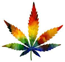 Psychedelic Marijuana Leaf Photograph by Athena Mckinzie