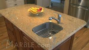 Colonial Gold Granite Kitchen Kashmir Gold Youtube