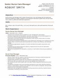 Utilization Review Nurse Resume Nurse Care Manager Resume Samples Qwikresume