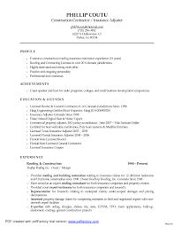 Catastrophe Claims Adjuster Sample Resume Pleasing Sample Resume For Entry Level Claims Adjuster With Resume 5