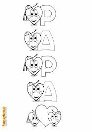 F Te Des P Res Coloriages Papier Lettres Coloriage Lettre