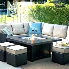 fire pit table set outdoor patio furniture sets with fire pit patio fireplace table image of