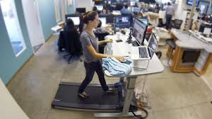 we tried a treadmill desk because sitting at work is killing us you