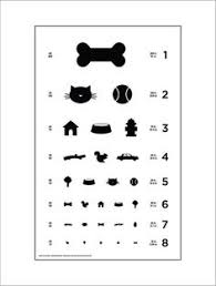California Dmv Eye Chart