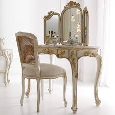 italian designer rococo dressing table set