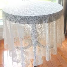 vintage tablecloth large lace tablecloth 78 round table cover