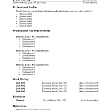 Usable Resume Templates Resume Template Usable Templates Clinical Medical Assistant 11