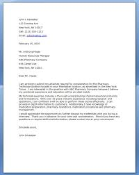 45 Pharmacy Technician Letters Www Freewareupdater Com