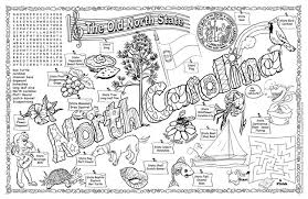 Small Picture Gallopade International North Carolina Symbols Facts FunSheet