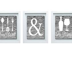 kitchen wall art eat drink be merry canvas or prints flower on food and drink wall art with kitchen wall art eat drink be merry canvas or prints flower