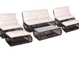 novel 6 piece outdoor seating set