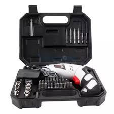 Hộp máy khoan cầm tay dùng pin sạc điện hiện đại kèm 45 chi tiết bằng thép  không gỉ Máy khoan mini giá rẻ Máy bắt vít không dây cho gia đình