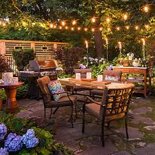 grays and cremes are trendy and thoughtful in this chic patio design the blending of fashionable notes accents and decor are perfected for a glamorous