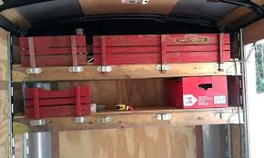 enclosed trailer shelving layout enclosed cargo trailer shelving cargo trailer shelving contractor cargo trailer shelving