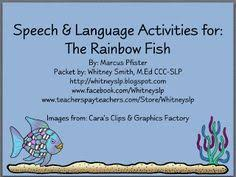 the rainbow fish sch age activities to go with the