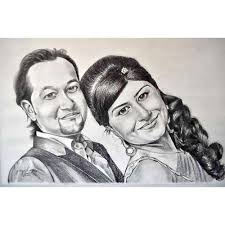 Pencil Sketches Of Couples Cute Couple Pencil Sketch