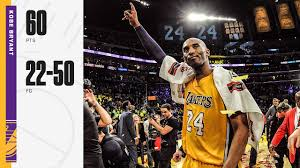 The Last Dance | April 13, 2016 | Los Angeles Lakers & Utah Jazz | Kobe  Bryant 60 Points Highlights - YouTube