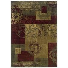 oriental weavers kiawah crenshaw multi 8 ft x 10 ft area rug 271627 the home depot