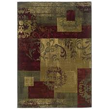 oriental weavers kiawah crenshaw multi 8 ft x 10 ft area rug 271627 the home depot
