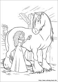 Brave Coloring Pages Pdf Free Coloring Horse Coloring Pages