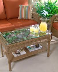 terrarium furniture. Transform A Table Into Terrarium Furniture R