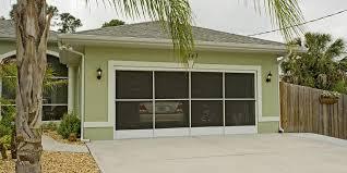 screened in garage doorSide Slider Garage Door Screen SS30 EzeBreeze Side Slider