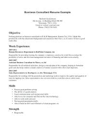 Consultant Resume Example Classy Business Consultant Resume Samples Business Consultant Resume