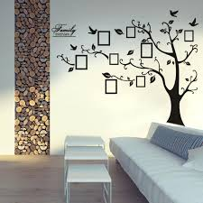 family tree wall decal sticker photo frame living room decor ideas picture set
