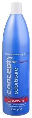 Concept <b>шампунь</b> Live <b>Hair</b> color & care Для окрашенных <b>волос</b> ...