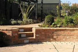 how to build a low garden wall view