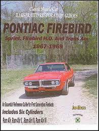 1967 pontiac firebird wiring diagram manual reprint