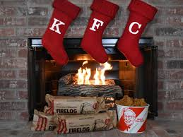 KFC Put Its 11 Herbs & Spices into a Firelog for Christmas | Food ...