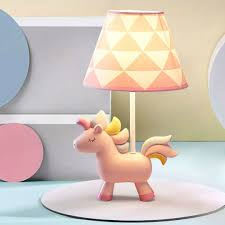 Rainbow Unicorn Table Lamp Night Light For Kids And Adult