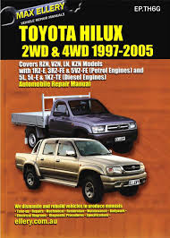 Toyota Hilux 2.8 Diesel Workshop Manual