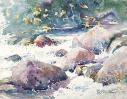 how to paint rocks in watercolor watercolor artist and artists network