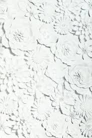 3D Flower Wall White Wallpaper - 907603 ...
