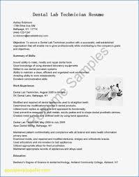 Dental Technician Cv Dental Lab Technician Resume Www Scotlandbycamper Com