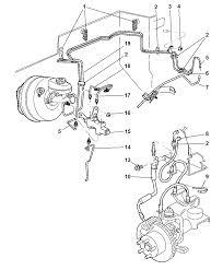 1999 jeep cherokee brake lines front diagram 00i88648