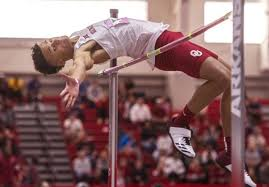 The soldier is jumping on each count. Why Ou High Jumper Vernon Turner S Absence Created A Buzz And How He Hopes To Keep People Talking