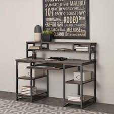 office desk styles. Home Styles Barnside Gray Desk With Hutch Office O