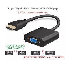 Cáp chuyển đổi HDMI sang VGA dùng chuyển đổi HDMI từ Android Box sang màn  hình vi tính LCD, Tivi, máy chiếu ___MtpShop9x